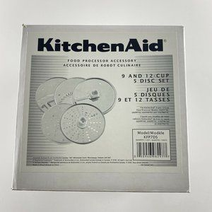 KitchenAid 9 and 12 Cup 5 Disc Blade Set